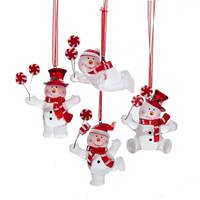 Kurt S. Adler Snowman Ornament Assortment from Blain's Farm and Fleet