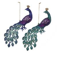 Kurt S. Adler Peacock Ornament Assortment from Blain's Farm and Fleet