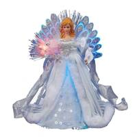 Kurt S. Adler Fiber Optic Angel Tree Topper from Blain's Farm and Fleet