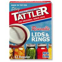 Tattler Reusable Canning Lids and Rings from Blain's Farm and Fleet