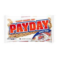 PayDay Halloween Snack Size Peanut Caramel Bars from Blain's Farm and Fleet