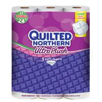 Quilted Northern Ultra Plush Double Toilet Paper Rolls from Blain's Farm and Fleet