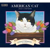 Lang American Cat 2017 Wall Calendar from Blain's Farm and Fleet