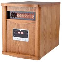 King Electric Infrared Deluxe Wood Cabinet Heater from Blain's Farm and Fleet