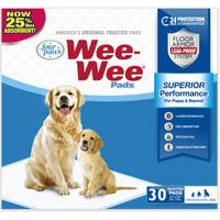 Four Paws Wee-Wee Pads from Blain's Farm and Fleet