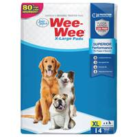 Four Paws Extra Large Wee-Wee Pads from Blain's Farm and Fleet