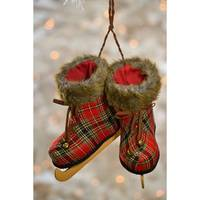 Caffco International Plaid Hanging Skates from Blain's Farm and Fleet