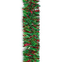 Holiday Trims Natural Green & Red Garland from Blain's Farm and Fleet