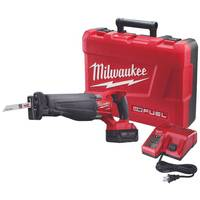 Milwaukee M18 FUEL Sawzall Reciprocating Saw Kit from Blain's Farm and Fleet