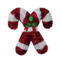 FC Young & Co Inc. Double Candy Cane Wreath from Blain's Farm and Fleet
