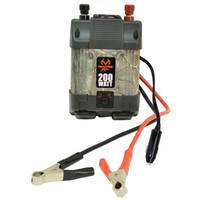 Realtree Xtra 200W Dual Power Inverter with USB from Blain's Farm and Fleet