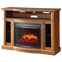 Pleasant Hearth Raleigh Media Fireplace from Blain's Farm and Fleet