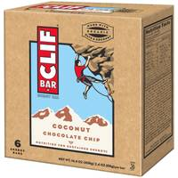 Clif Bar Coconut Chocolate Chip Energy Bars - 6 Count from Blain's Farm and Fleet