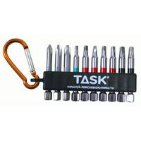 TASK 10 Piece Mixed Robertson & Phillips Impact Carabiner Clip from Blain's Farm and Fleet