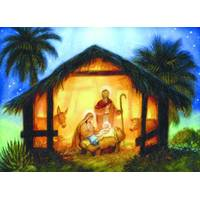 LPG Greetings The Nativity Christmas Value Cards from Blain's Farm and Fleet