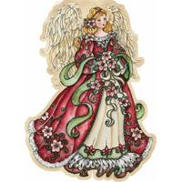 LPG Greetings Angel Ornament Christmas Cards from Blain's Farm and Fleet