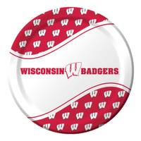 Creative Converting Wisconsin Badgers Dinner Plates from Blain's Farm and Fleet