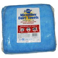 Coburn Blue Microfiber Dairy Towels from Blain's Farm and Fleet