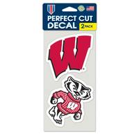 WinCraft University of Wisconsin Badgers Die Cut Decals from Blain's Farm and Fleet