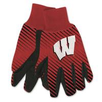 All Star Sports University of Wisconsin Badgers Sport Utility Gloves from Blain's Farm and Fleet