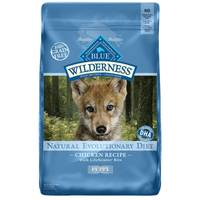 Blue Buffalo Wilderness 24 lb Grain Free Chicken Natural Evolutionary Diet Puppy Food from Blain's Farm and Fleet
