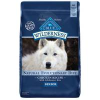 Blue Buffalo Wilderness 24 lb Grain Free Senior Dog Food from Blain's Farm and Fleet