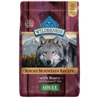 Blue Buffalo Wilderness 22 lb Grain Free Rocky Mountain Bison Adult Dog Food from Blain's Farm and Fleet