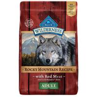 Blue Buffalo Wilderness 22 lb Grain Free Rocky Mountain Recipe with Red Meat Adult Dog Food from Blain's Farm and Fleet