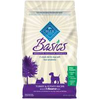 Blue Buffalo Life Protection 4 lb Basics Grain Free Turkey & Potato Recipe Dog Food from Blain's Farm and Fleet