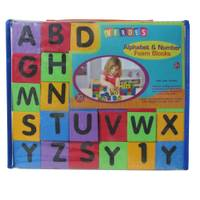 Verdes Alphabet & Numbers Building Blocks from Blain's Farm and Fleet