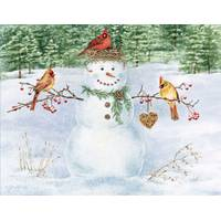 Lang Happy Snowman Boxed Christmas Cards from Blain's Farm and Fleet