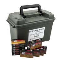 Remington Arms Company Wolf Gold Ammo Can from Blain's Farm and Fleet