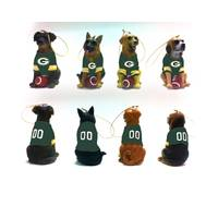 Evergreen Enterprises Green Bay Packers Team Dog Ornament Assortment from Blain's Farm and Fleet