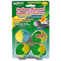 AirBOSS Garbage Disposal Cleaner Tablets from Blain's Farm and Fleet