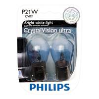 Philips Automotive Lighting P21WCVB2 CrystalVision Signaling Mini Light Bulbs from Blain's Farm and Fleet