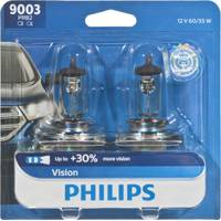 Philips Automotive Lighting 9003 Vision Headlight (Twin Pack) from Blain's Farm and Fleet