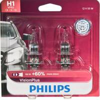 Philips Automotive Lighting H1 VisionPlus Headlight (Twin Pack) from Blain's Farm and Fleet