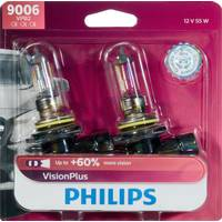 Philips Automotive Lighting 9006 VisionPlus Headlight (Twin Pack) from Blain's Farm and Fleet