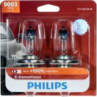 Philips Automotive Lighting 9003 X-tremeVision Headlight (Twin Pack) from Blain's Farm and Fleet