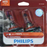 Philips Automotive Lighting H11 X-tremeVision Headlight (Twin Pack) from Blain's Farm and Fleet