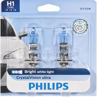 Philips Automotive Lighting H1 CrystalVision Ultra Headlight (Twin Pack) from Blain's Farm and Fleet