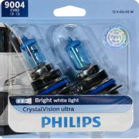 Philips Automotive Lighting 9004 CrystalVision Ultra Headlight (Twin Pack) from Blain's Farm and Fleet