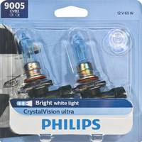 Philips Automotive Lighting 9005 CrystalVision Ultra Headlight (Twin Pack) from Blain's Farm and Fleet