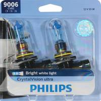 Philips Automotive Lighting 9006 CrystalVision Ultra Headlight (Twin Pack) from Blain's Farm and Fleet