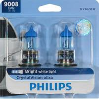 Philips Automotive Lighting 9008 CrystalVision Ultra Headlight (Twin Pack) from Blain's Farm and Fleet