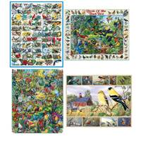 White Mountain Puzzles 1000-Piece Birds Puzzle Assortment from Blain's Farm and Fleet