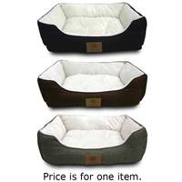 American Kennel Club Box Weave Cuddle Bed from Blain's Farm and Fleet