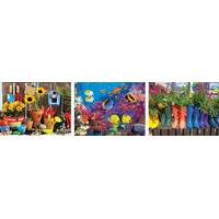 Lafayette Puzzle Factory Colorluxe Calico Cat Puzzle Assortment from Blain's Farm and Fleet