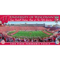 MasterPieces NCAA Wisconsin Badgers Stadium Panoramic Jigsaw Puzzle from Blain's Farm and Fleet