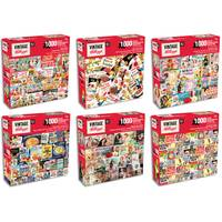 Karmin International 1000-Piece Retro Kellogg's Characters Puzzle Assortment from Blain's Farm and Fleet